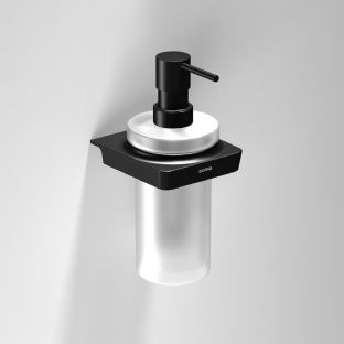Sonia S6 Black Soap Dispenser - 166466